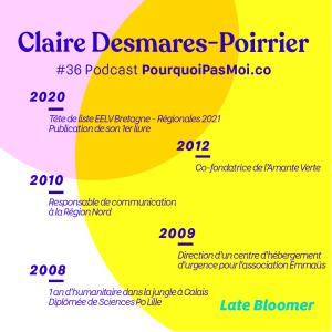 biographie Claire Desmares Poirrier