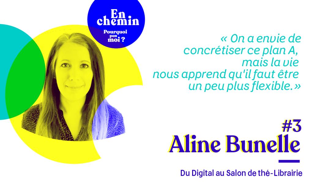 Aline Bunelle podcast 3