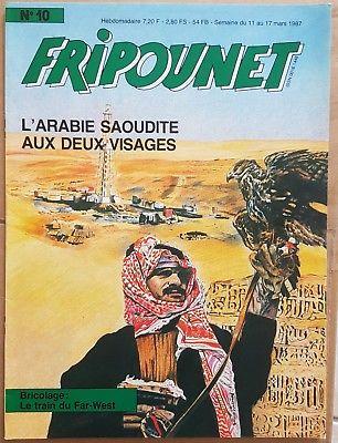 Fripounet 1987, N°10 L'arabie saoudite aux deux visages