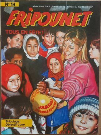 Fripounet 1987, N°14 Tous en fête !