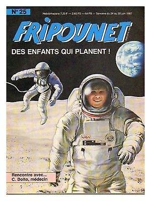 Fripounet 1987, N°25 Des enfants qui planent