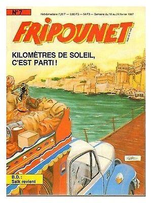 Fripounet 1987, N°7 Kilomètres de soleil, c'est parti !