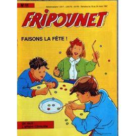 Fripounet 1987, N°11 Faisons la fête !