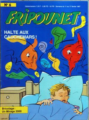 Fripounet 1987, N°6 Halte aux cauchemars !