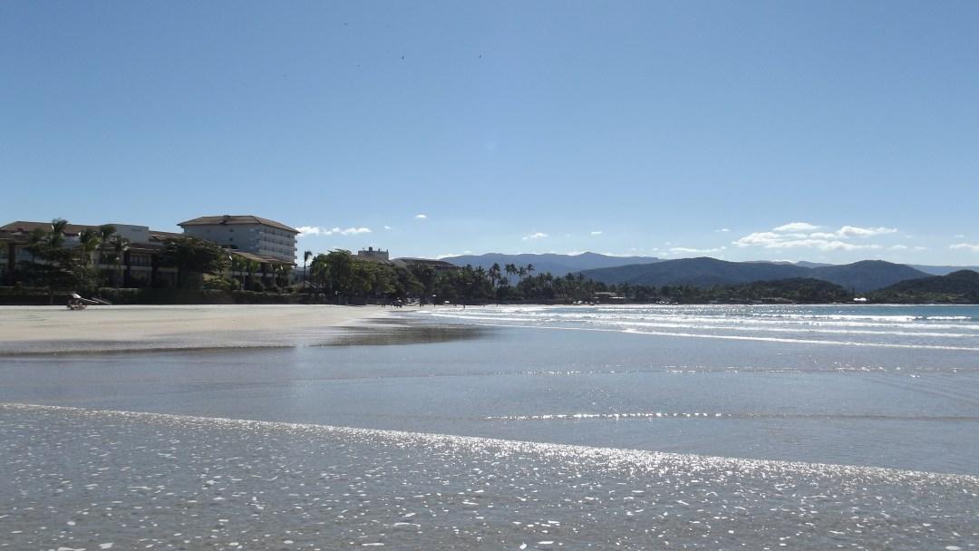 Praia de Pernambuco vista Sofitel Jequitimar Guaruja