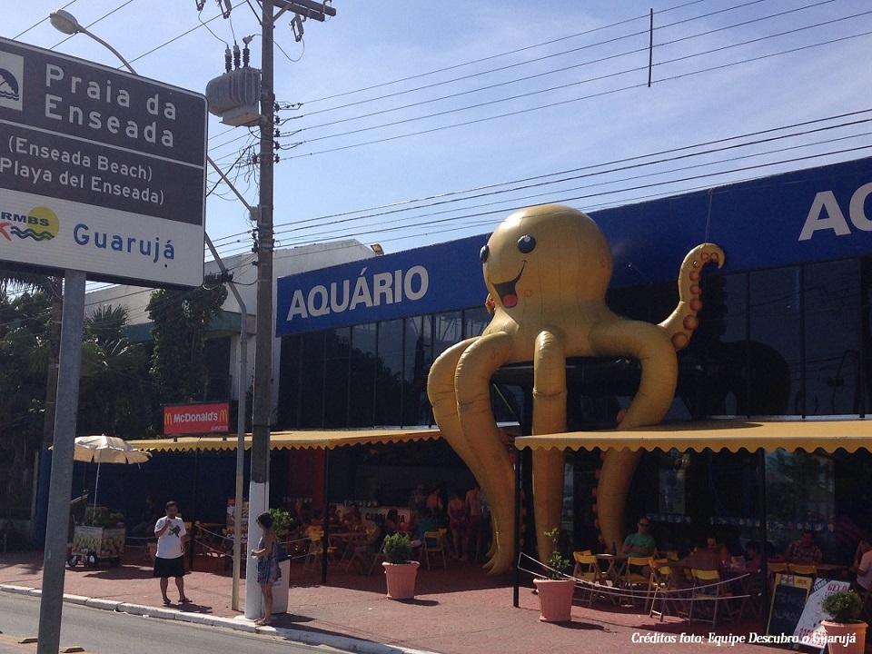 Aquário do Guarujá Acqua Mundo - Praia da Enseada