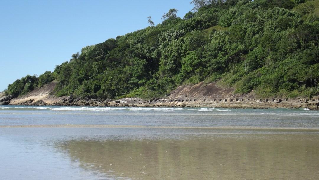 Praia do Mar Casado e praia Pernambuco em Guaruja