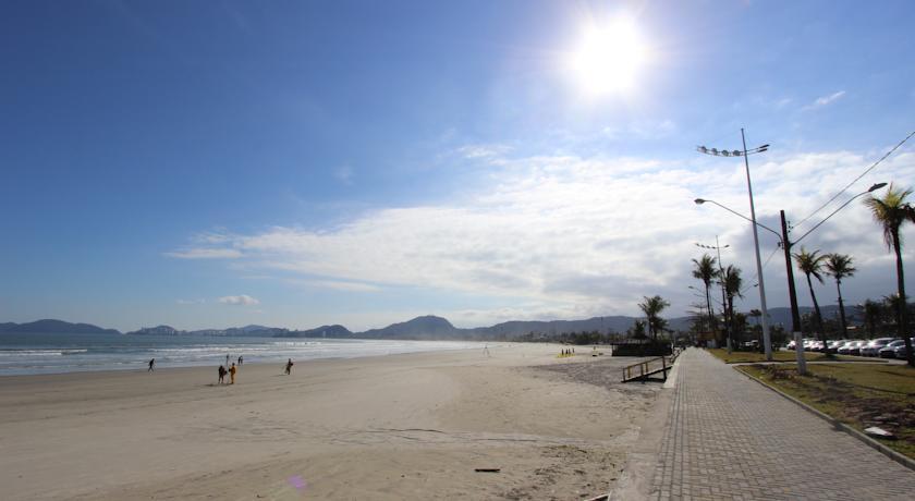 Orla praia da enseada no Guarujá sp