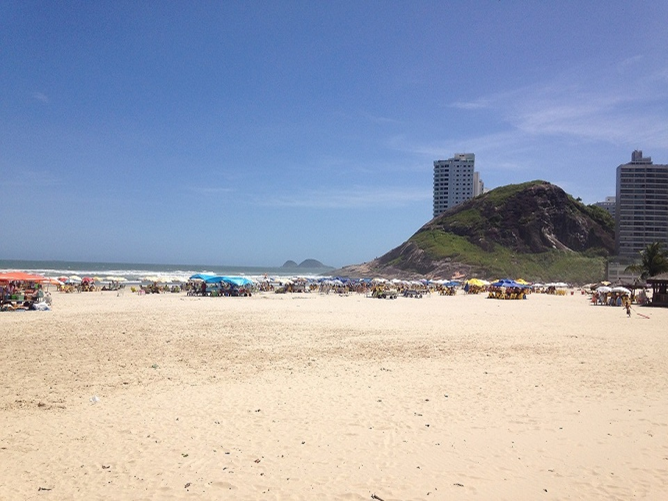 Vista Praia da Enseada Guarujá