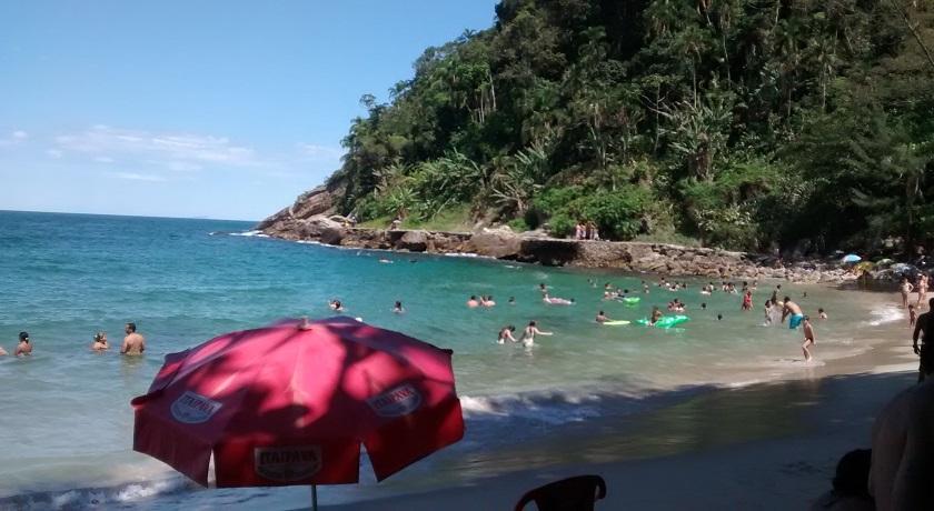 Vista da Praia do Eden no Guarujá