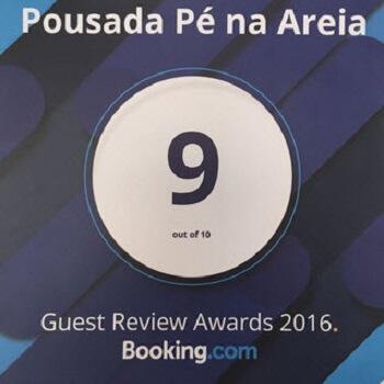 Nota Booking Pousada Pe na Areia