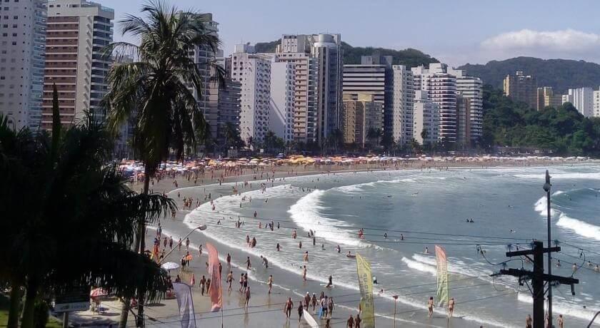 Praia da Asturias Guaruja