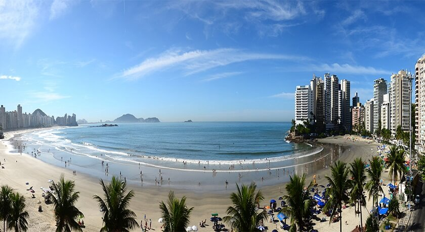 Praia da Asturias Guaruja SP