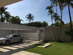 Estacionamento Interno Pousada Pe na Areia Guaruja
