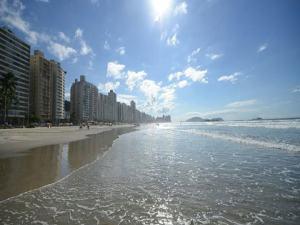 Praia de Pitangueiras no Guaruja