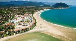 Praia de Pernambuco e Mar Casado - Guaruja SP