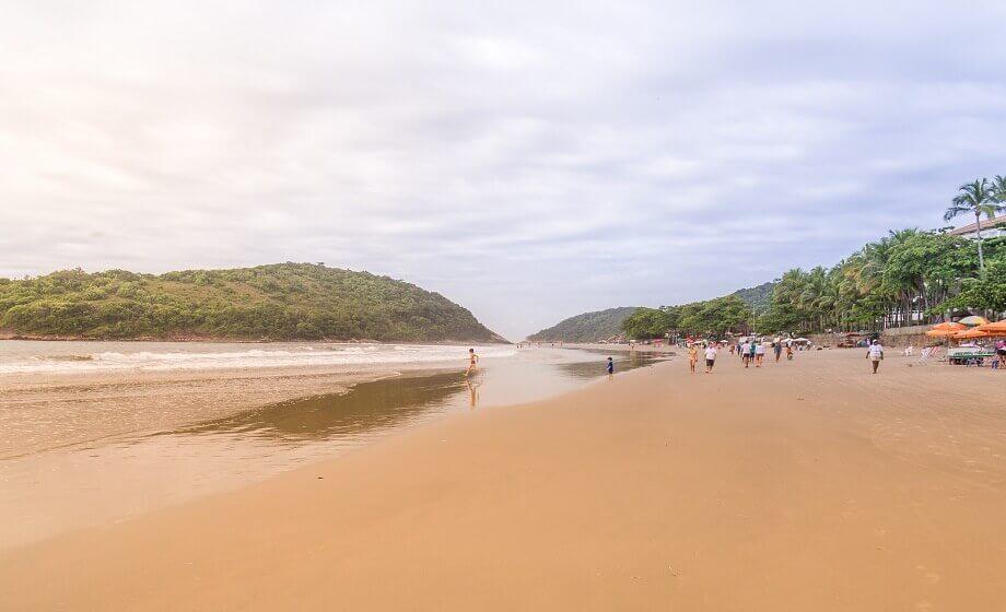 Praia de Pernambuco Guaruja SP