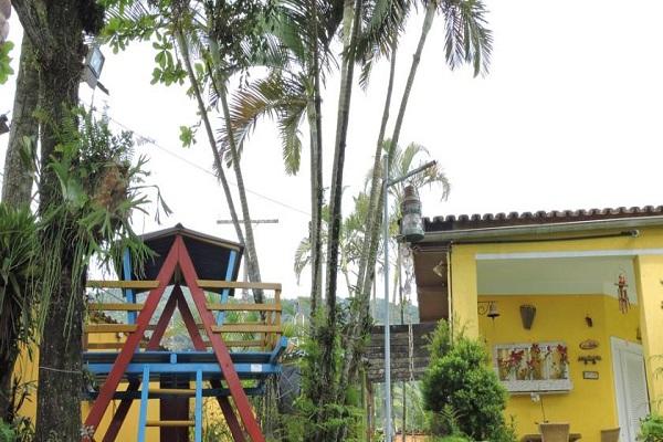 Playground da Pousada Sorocotuba Enseada Guarujá