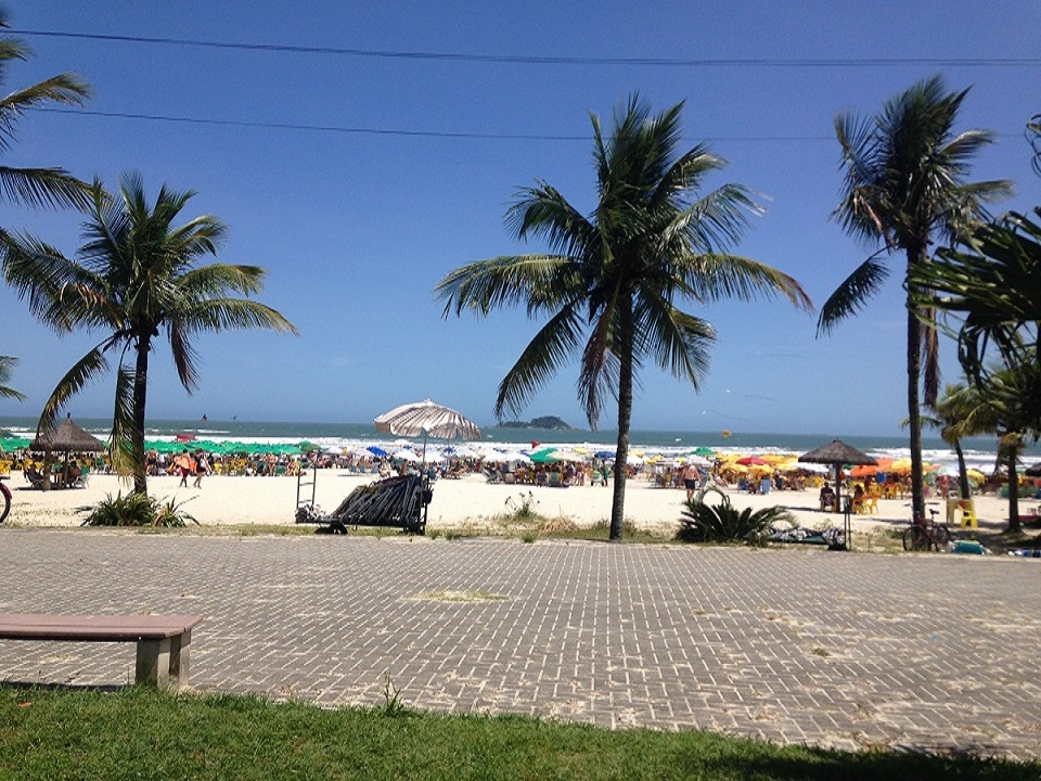 Praia da Enseada em Guaruja SP