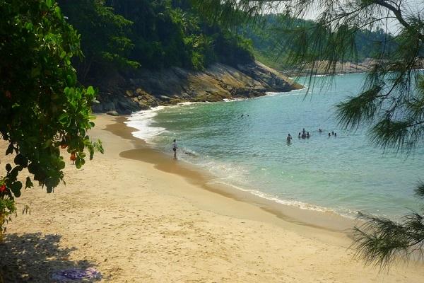 Praia do Éden - Morro do Sorocotuba Guarujá SP