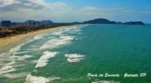 Praia da Enseada, uma das melhores praias do Guarujá