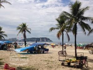 Praia da Enseada no Guaruja - SP