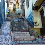 Escaliers de Valparaíso