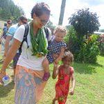 Moments magiques dans un village traditionnel fidjien