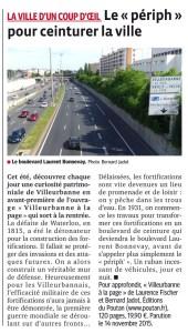 Villeurbanne - Le Progrès 22 juillet 2015