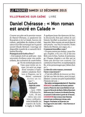 Daniel Chérasse Le Progrès 151212