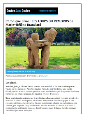Quatre Sans Quatre Webzine 151210