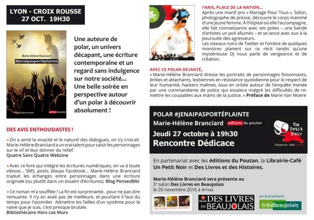 Dédicace Librairie-Café Un Petit Noir