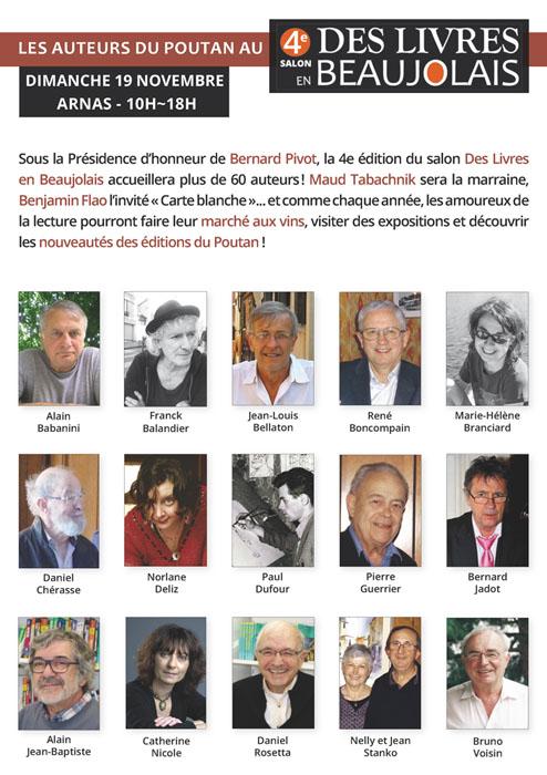 auteurs poutan 4e salon des livres en beaujolais fb