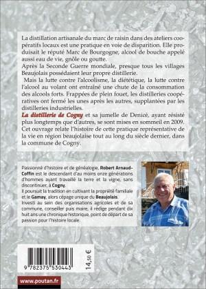 La distillerie de Cogny de Robert Arnaud-Coffin Quatrième
