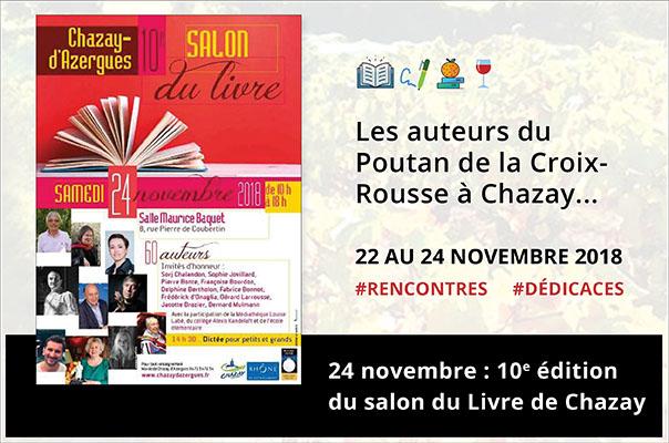 Les auteurs du Poutan de la Croix-Rousse à Chazay...