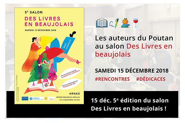 le poutan au 5e salon des livres en beaujolais web