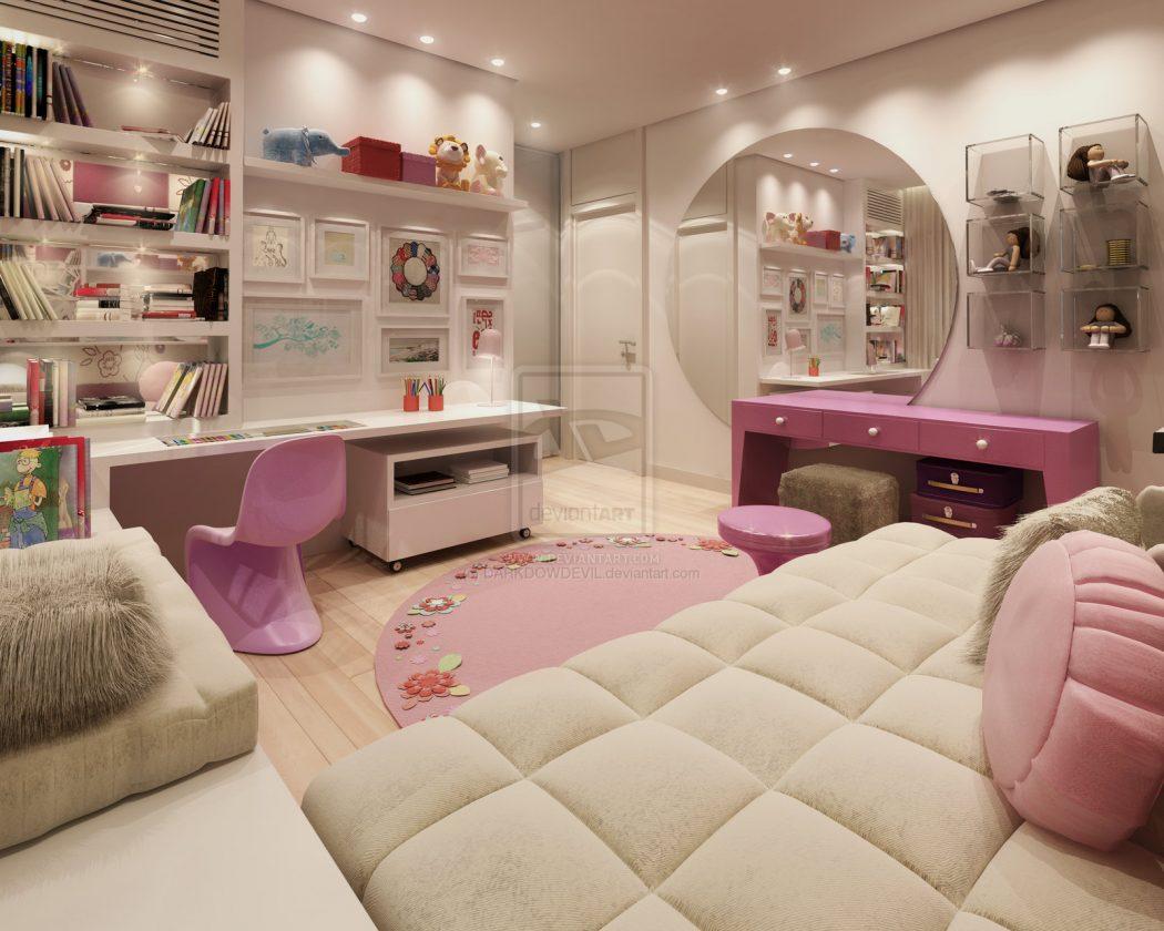 Best Girl Bedrooms In The World  Home Designs