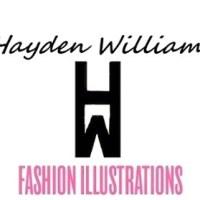 #HAYDEN WILLIAMS FASHION #ILLUSTRATIONS