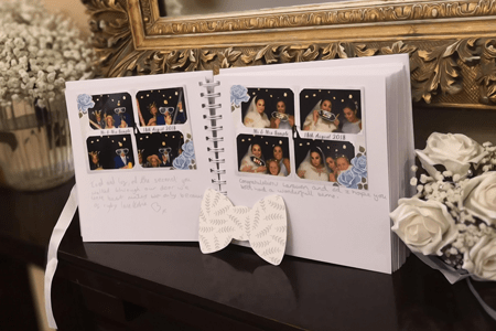 photo booth hire guestbook