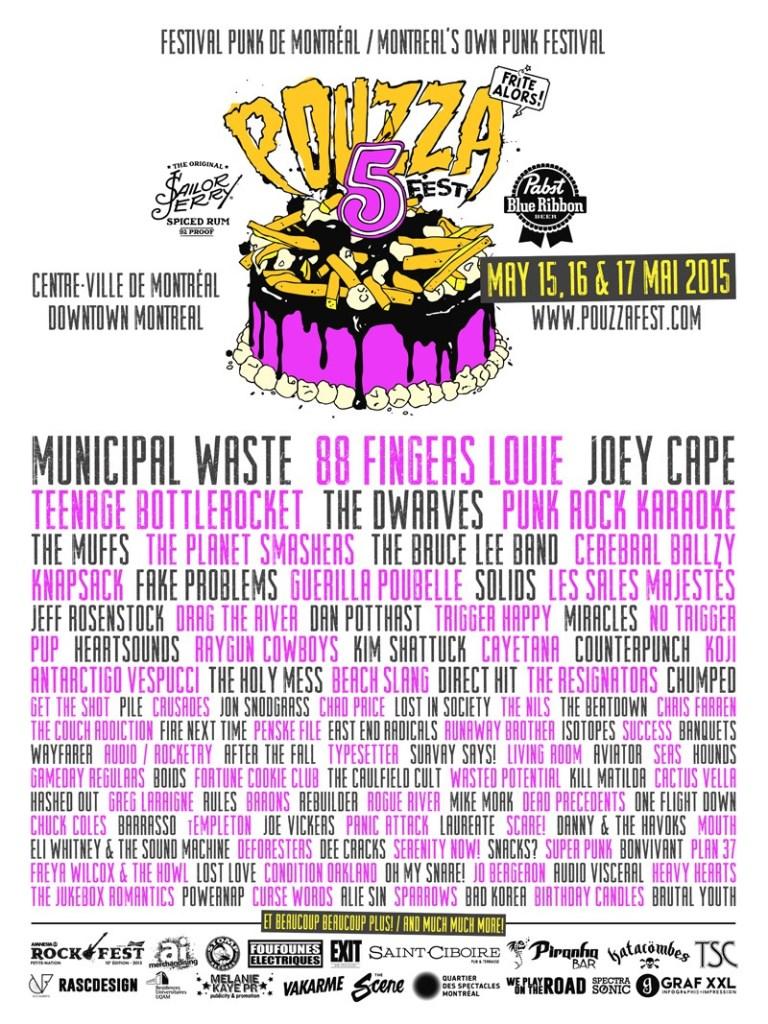 Pouzza Fest 5 (2015) - Poster