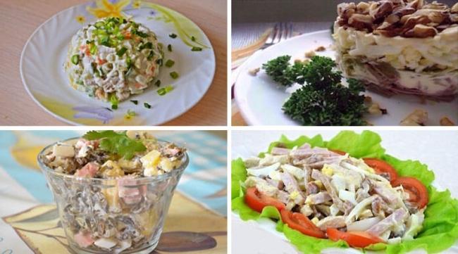 4 вкусных мясных салата
