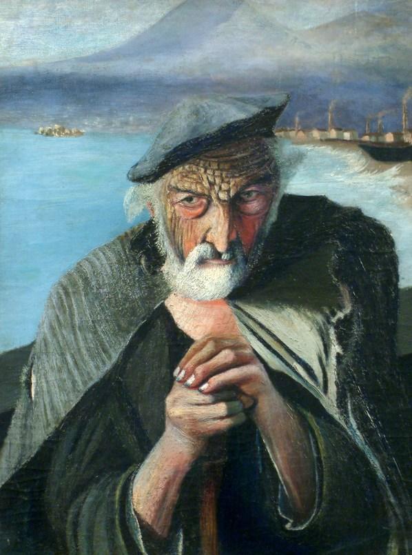 Csontváry_Kosztka,_Tivadar_-_Old_Fisherman_(1902)