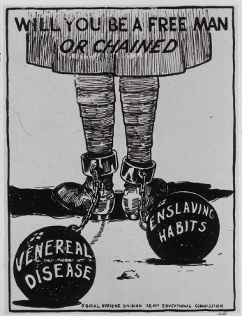 Will You Be a Free Man or Chained, 1918.