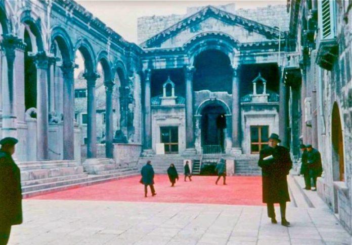 Slika 12 - Crveni Peristil, 11. siječnja 1968.