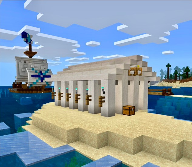 Lekcija u Minecraftu: Kreta (materija: Sanela Toša Ljubičić)