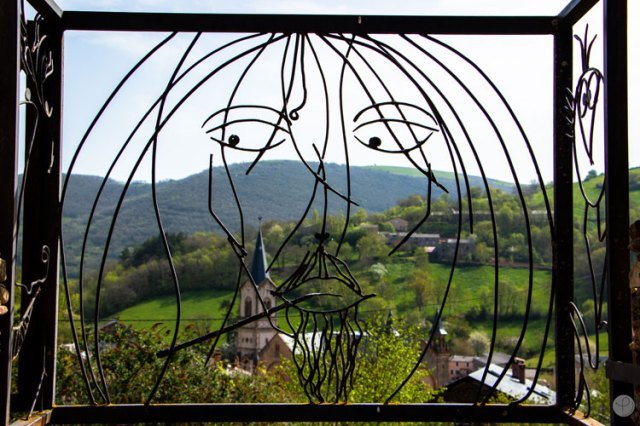 Saint Sever du Moustier Wrought iron