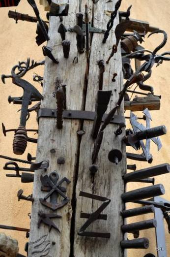 Stâlpul calfelor din Sibiu. Foto: Ribanna Tocan