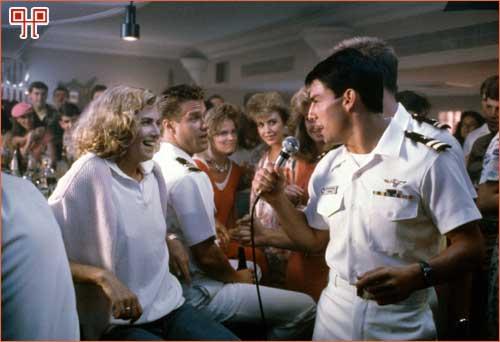 Scena iz filma Top Gun u kojoj se izvodi ova pjesma
