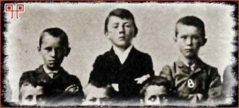 Hitler kao školarac 1901. godine
