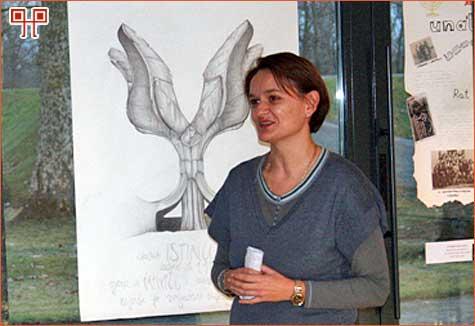 Otvaranje izložbe u Jasenovcu